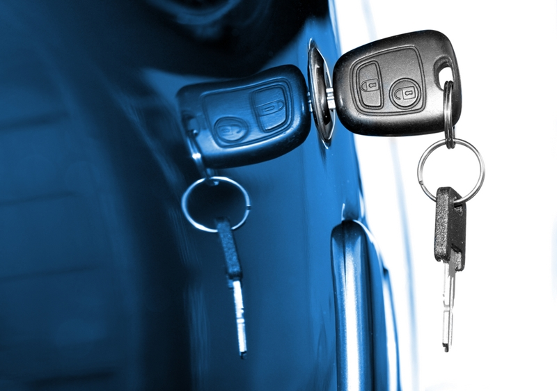 Auto thefts are often associated with silly mistakes, like leaving the keys in the door or ignition.