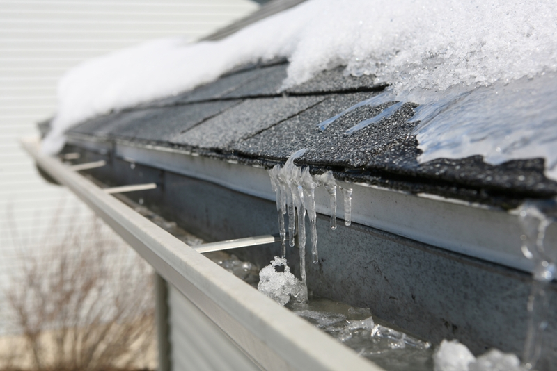 Ice dams can be a casualty of winter if you're not careful.